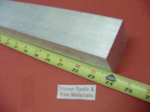 2 1 4 X 2 1 4 Aluminum Square 6061 Solid Bar 24 Long T6511 Mill Stock 2 25