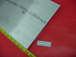 3 4 X 10 Aluminum 6061 Flat Bar 32 Long T6511 Solid 750 Plate Mill Stock