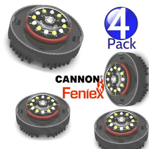 4 Pack Feniex Cannon New Hideaway Led Strobe Light Bright White