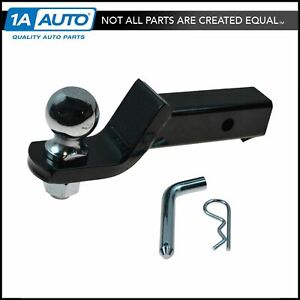 Curt 45041 Loaded Tow Ball Mount 2 Drop W 2 5 16 Ball Hitch Pin
