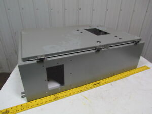 Saginaw Control An999901 36x26x10 cabinet Panel Electrical Enclosure Jic Box