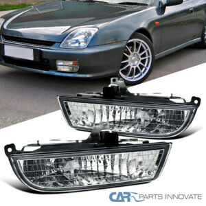 Fit 97 01 Honda Prelude Replacement Clear Fog Lights Driving Bumper Lamps switch