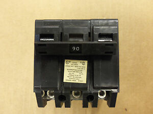 New Crouse Hinds Murray Mp Mp a Mp390 90 Amp 3 Pole Circuit Breaker