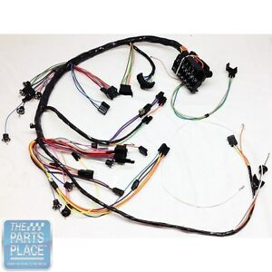 1967 67 Chevelle Dash Harness For Factory Gauges Gauges Not Included Each