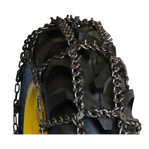 Rud Tractor Talon Studded 14 9 24 Tractor Tire Chains 14924ast