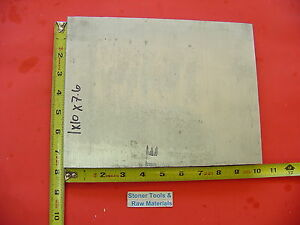 1 X 10 X 7 6 Aluminum 6061 Flat Bar Solid T6511 New Mill Stock Plate 1 00