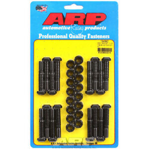 Arp Connecting Rod Bolt Set 134 6401 Wave Loc Black Chromoly For 265 327 Sbc