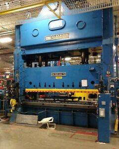 300 Ton Clearing Straight Side Double Crank Press Model s4 300 Stock 5097