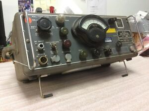 Stoddart Nm 30a Radio Interference Field Intensity Meter 1957 Vintage Sale 149