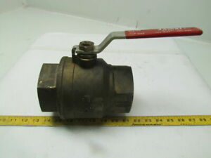 Jomar 100 3 Brass Full Port Ball Valve 3 npt