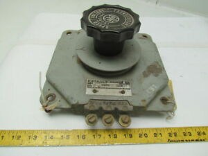 General Electric 8000eb101aa252 Rheostat 100 ohms 250v Max 4 6amps