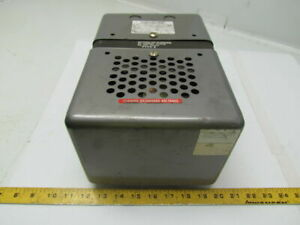 Sola 23 22 625 Constant Voltage Transformer Input 95 130 X 190 260 Output 120v
