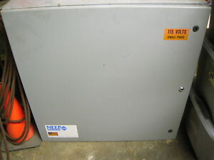 Industrial Electrical Box Enclosure Loaded With Switches Relays Etc