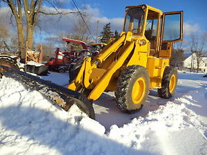 Ford A62 Loader Diesel 4x4 12 Feet Snow Blade Newholland Motor Cat