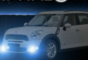 2011 2016 Mini Countryman Halo Fog Lamps Angel Eye Driving Lights Kit