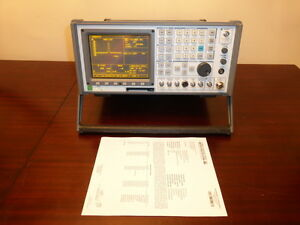 Ifr Aeroflex Com 120b Am fm Communications Service Monitor Loaded