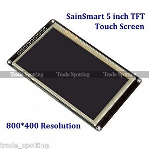 5 Inch Tft Lcd Display Module 800x480 Touch Screen For Arduino Uno R3 Due