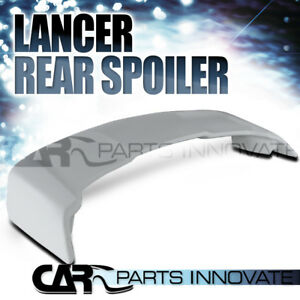 2008 2015 Mitsubishi Lancer Abs Rear Trunk Top Spoiler Wing Unpainted