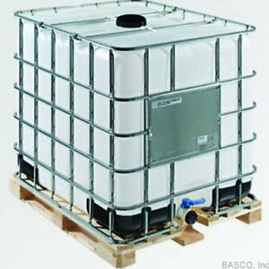 Za 275 Gallon Ibc Tote Metal Cage Wood Pallet Liquid Storage Wvo Fuel Oil