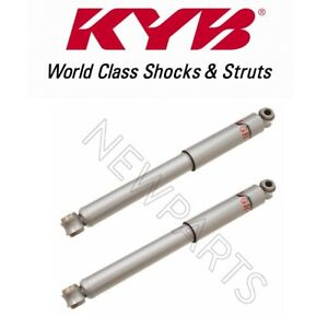 For Suzuki Samurai 86 95 Pair Set Of 2 Rear Shock Absorbers Kyb Excel G 343030