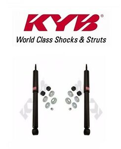 2 Rear Fits Toyota Sequoia 2001 2002 2003 2004 To 8 04 Shock Absorber Kyb 344358