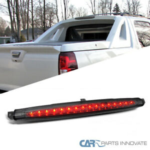 For Chevy 07 12 Avalanche Led Rear 3rd Third Brake Light Smoke