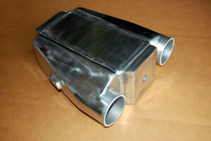 Air To Water Intercooler A W Ic 3 0 In Out Liquid Core Aluminum Jet Ski Sea Doo