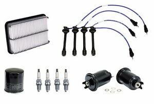 Fits Toyota Tacoma 96 01 2 4l Ignition Tune Up Kit Filters Spark Plugs Wire Set