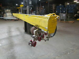 Royal Arc Unified Overhead Crane Rail 18 Section W 1000 Capacity Trolleys
