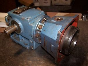 New Sew Eurodrive 15 74 1 Ratio Motor Gear Speed Reducer 842a 310 Lb in Torque