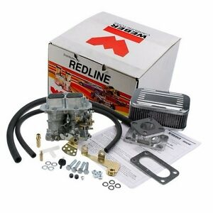 Genuine Weber 32 36 Dgv Manual Choke Carburetor Kit For Jeep Cj Willys