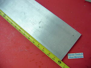 3 4 X 5 Aluminum 6061 Flat Bar 24 Long 750 Solid Plate T6511 Mill Stock