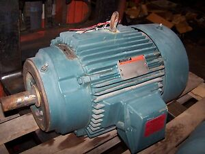 New Reliance 15 Hp Ac Electric Motor 254tc Frame 460 Vac 3530 Rpm 6308331 Tefc