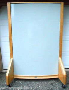 Knowhere Dry Erase Two sided Curved Board 72 By 48 On Wheels The Best Made