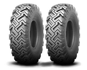 Two New 5 70 8 Kenda X grip Tires Fit Rayco Stump Grinder 570 8 Free Shipping
