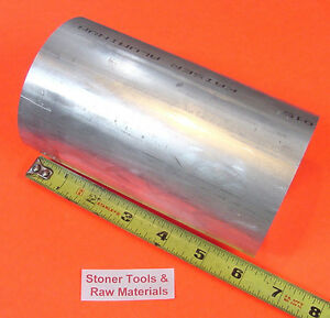 3 1 2 Aluminum 6061 Round Rod 6 Long T6511 Solid Lathe Bar Stock New 3 50 Od