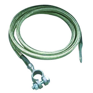 Taylor Battery Cable 20027 4 Gauge Copper 27 Inches Silver Top Post Eyelet
