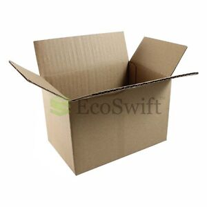 1 200 6x4x4 ecoswift Cardboard Packing Mailing Shipping Corrugated Box Cartons