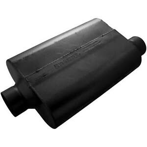 Flowmaster 30 Series Race Muffler 3 50 Offset In 3 50 Center Out Aggressiv
