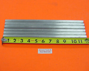 6 Pieces 1 2 Aluminum 6061 Round Rod 12 Long Solid T6511 Lathe Bar Stock