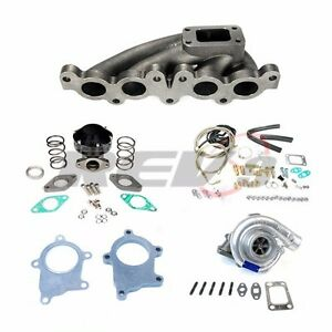 Rev9 90 94 Toyota Mr 2 3sgte T3t4 T3 Manifold Turbo Charger Set Up Kit 350hp