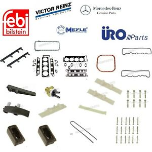 For Mercedes R107 Sl560 High Quality Kit Head Bolts Gaskets Timing Chain Guide