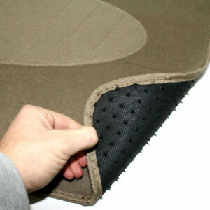 4 Universal Heavy Duty Tan Carpet Interior Floor Mats Set For Auto Car Truck