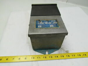 Dongan 80 1035 Single Phase General Purpose Ventilated Transformer Pri 240x480v