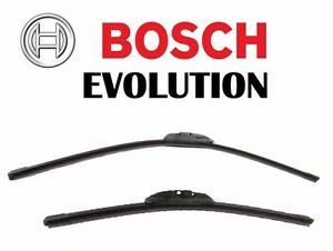For Pair Set Of 2 Wiper Blade Front Left Right 26 17 Bosch Evolution