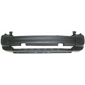 Bumper Cover For 2005 2007 Jeep Liberty Front W Tow Hook Hole Plastic Textured