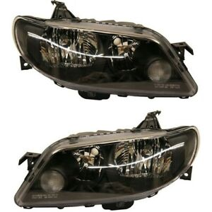 Headlight Set For 2002 2003 Mazda Protege5 Left And Right 2pc