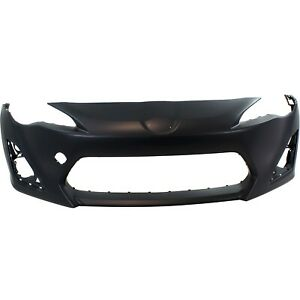 Bumper Cover For 2013 16 Scion Fr S With Fog Lamp Holes Front Primed Su00301484