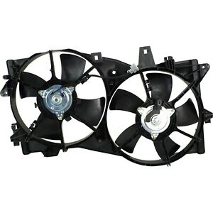 Radiator Cooling Fan For 2002 2005 Mazda Mpv W Blade Motor Shroud
