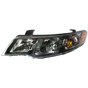 Headlight For 2010 2011 2012 2013 Kia Forte Hatchback Or Sedan Left With Bulb